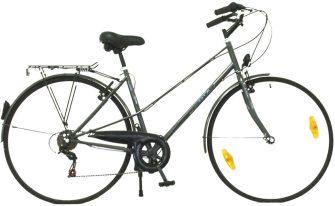 """Neuzer GTX 28"""" City AC V2 MIX 6 sebességes kerékpár szürke"""