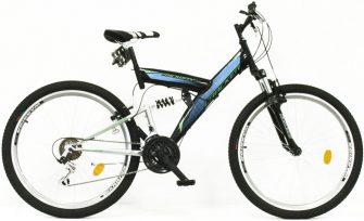 """Neuzer FS Cracker Mindway 26"""" MTB öszteleszkópos kerékpár"""