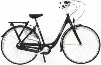 """Neuzer Maxwell Max Cited 28"""" női kerékpár fekete"""