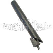 Kormánnyak magasító, toldó acél 25,4/28,6mm fekete