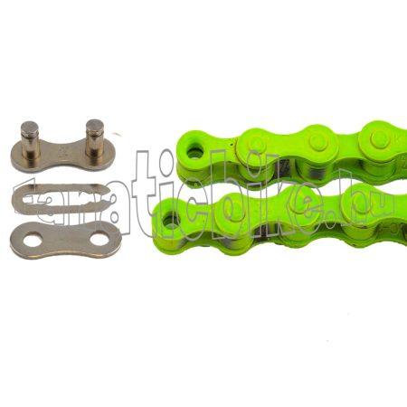 KMC Z-410 1 sebességes 1/2X1/8 110 szem lánc zöld