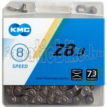 KMC Z8 dobozos 8 sebességes (1/2x3/32x114L) lánc + patentszem