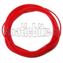 Teflonos bowdenház 5mm piros