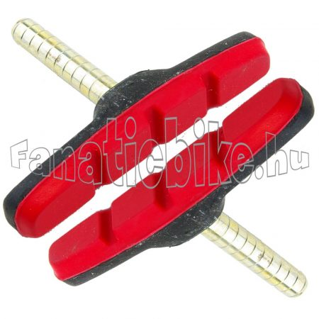 Alhonga fékbetét csapos fekete-piros