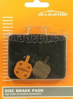 Alligator VX023 tárcsafékbetét (műgyantás)