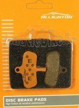 Alligator VX029 tárcsafékbetét (műgyantás)
