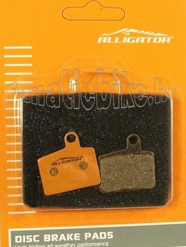 Alligator VX033 tárcsafékbetét (műgyantás)