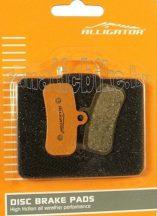 Alligator VX035 tárcsafékbetét (műgyantás)