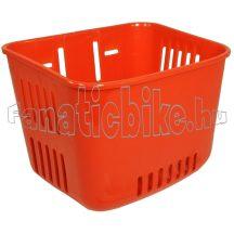 Gyerek kosár műanyag piros
