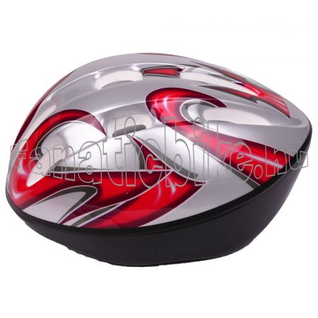 EPS sisak L 56-58cm piros-ezüst
