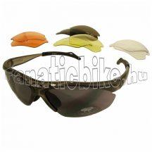 Mighty kerékpáros szemüveg cserélhető lencsés