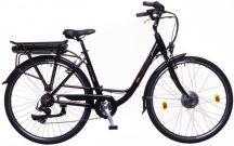 Neuzer E-City Zagon női 18 MXUS fekete/bronz pedelec kerékpár