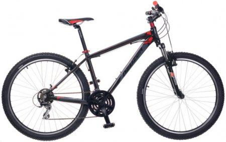 "Neuzer Duster Sport MTB 27,5"" fekete/ szürke-piros"