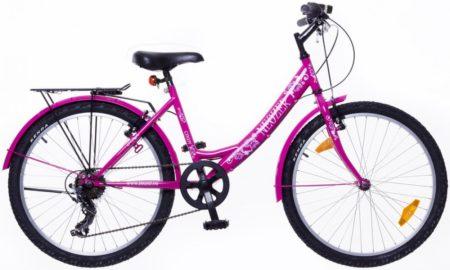 """Neuzer Cindy City 24"""" felszerelt pink/pink"""