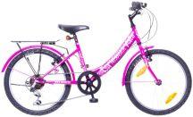 """Neuzer Cindy City 20"""" 6 sebességes felszerelt lány pink/pink"""