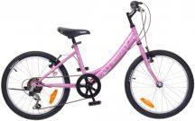 """Neuzer Cindy 20"""" 6 sebességes lány pink/pink"""