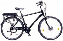 Neuzer E-Trekking férfi Zagon MXUS pedelec kerékpár fekete