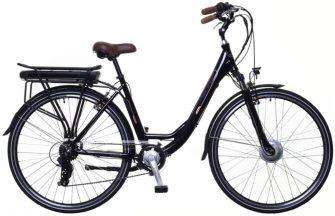 Neuzer E-Trekking női Zagon MXUS pedelec kerékpár fekete