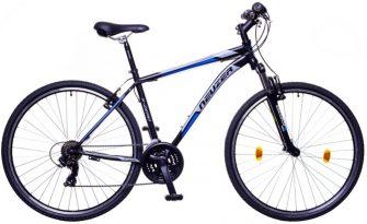 Neuzer X-Zero férfi Cross kerékpár fekete/kék-szürke