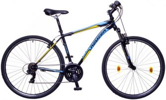 Neuzer X-Zero férfi Cross kerékpár fekete/kék-sárga