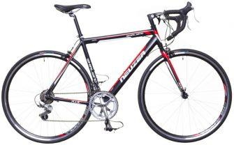 Neuzer Whirlwind 50 (54cm) országúti kerékpár fekete/fehér-piros