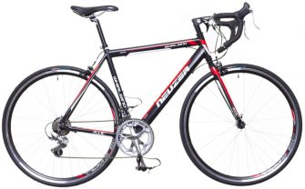 Neuzer Whirlwind 50 (50cm) országúti kerékpár fekete/fehér-piros