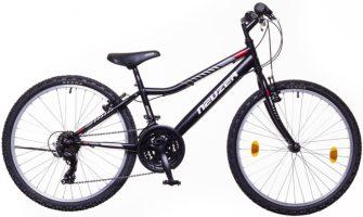 """Neuzer bobby 24"""" 18s kerékpár fekete/szürke-piros"""
