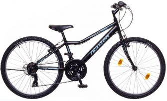 "Neuzer bobby 24"" 18s kerékpár fekete/celeste-zöld"