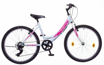 Neuzer Cindy 24 6s lány babyblue/fehér-pink