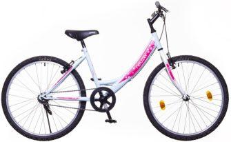 """Neuzer Cindy 24"""" 1 sebességes babyblue/fehér-pink"""
