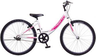 """Neuzer Cindy 24"""" 1 sebességes fehér/fehér-pink"""