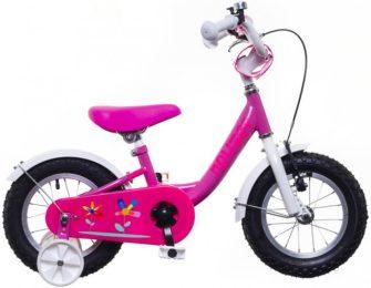 """Neuzer BMX 12"""" lány pink/fehér-pink"""