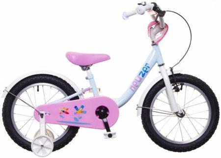 """Neuzer BMX 14"""" lány v.kék/fehér-pink"""