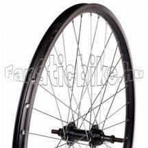 MTB fekete duplafalú abroncsos hátsó kerék (20-559mm)