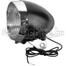 Dinamós cruiser első lámpa fekete