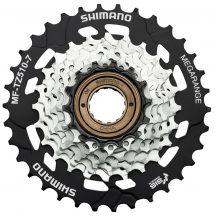 Shimano MF-TZ510 7 sebességes (14-34) racsni ezüst-fekete