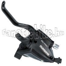 Shimano ST-EF500-2 ujjas bal 3 sebességes fékváltókar fekete
