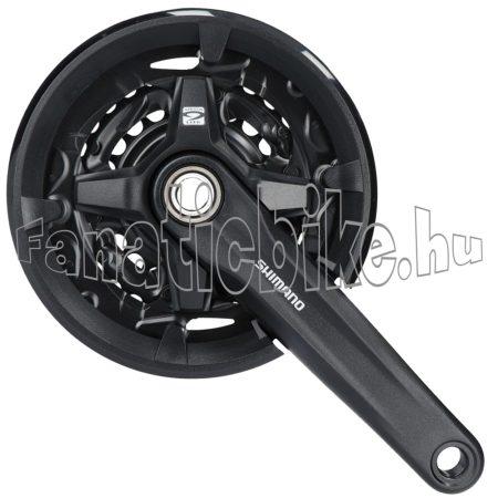 Shimano Altus FC-MT2103 170mm 40x30x22F 9-es integrált hajtómű fekete