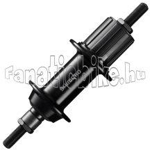 Shimano FH-TX500 36ly, 8/9/10-es, 135mm, anyás hátsó agy fekete