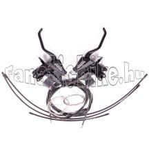 Shimano Altus ST-M310 fékváltókar  + bowdenek V-fékhez 3x8-as fekete