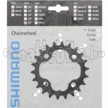 Shimano FC-M590 22F lánckerék fekete