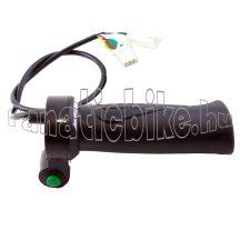 Gázkar elektromos kerékpárhoz nyomógombos