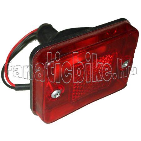 Hátsó lámpa elektromos kerékpárhoz