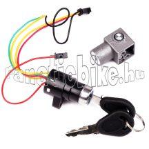 Zárkészlet elektromos kerékpárhoz műanyag (20mm)