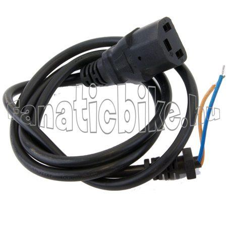 Akkumulátortöltő vezeték és dugóalj (3 érintkezős I - I)