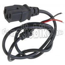 Akkumulátortöltő vezeték és dugóalj (3 érintkezős I T I)