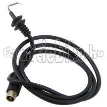 Akkumulátortöltő vezeték és dugóalj (2 érintkezős  O )
