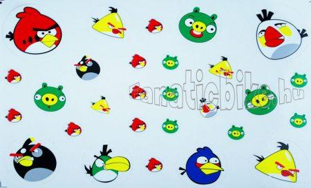 Matrica szett madaras