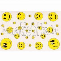 Matrica szett smile sárga