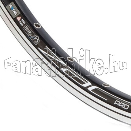 Ryde Zac Pro duplaf abroncs 622x18,5mm fekete 36ly
